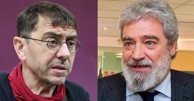Monedero insulta gravemente a asesor de Ayuso, Miguel Ángel Rodríguez