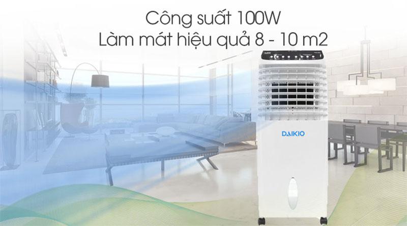 Diện tích sử dụng máy DKA-00800A là 8-10 m2