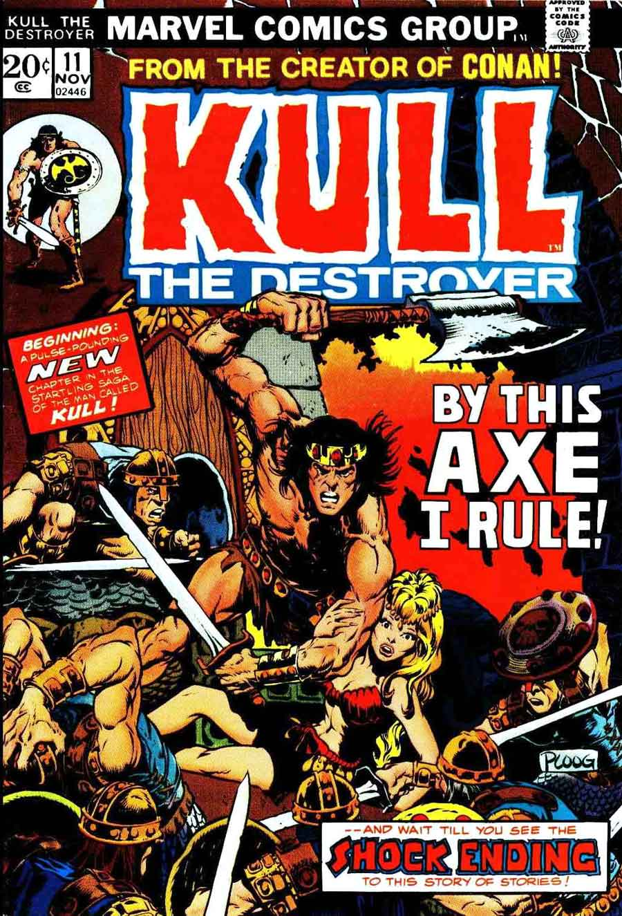 mike ploog kull the destroyer v1 11 1973 after a brief cancellation ... Conan The Destroyer Throne