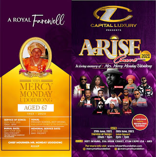 GX GOSSIP: Mercy Heart Foundation Presents Arise Concert In Memory Of Mrs Mercy Udoidiong #AriseConcert