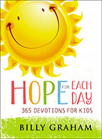 Hope for Each Day: 365 Devotions for Kids cover