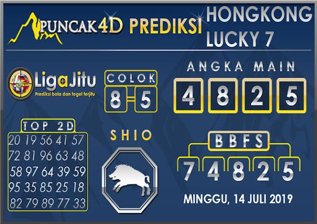 PREDIKSI TOGEL HONGKONG LUCKY7 PUNCAK4D 14 JULI 2019