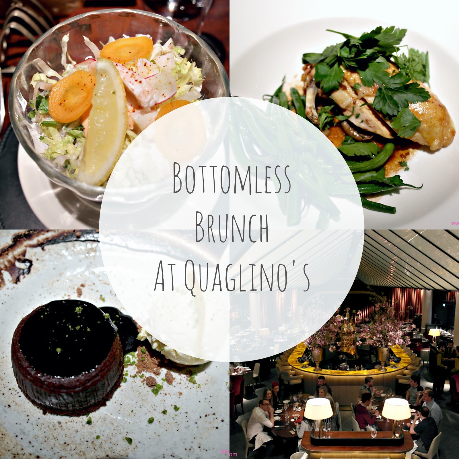 bottomless brunch, quaglinos, london