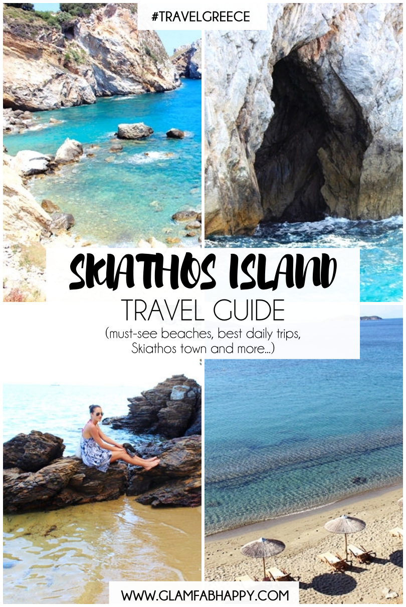 Complete SKIATHOS ISLAND travel guide: best beaches, daily trips, hotels, Skiathos town.