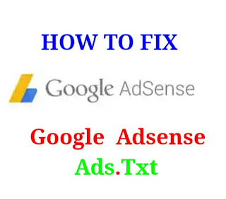 Fix Ads.txt