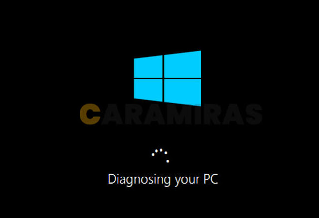 Memperbaiki Masalah Bootloader di Windows - diagnosing your pc
