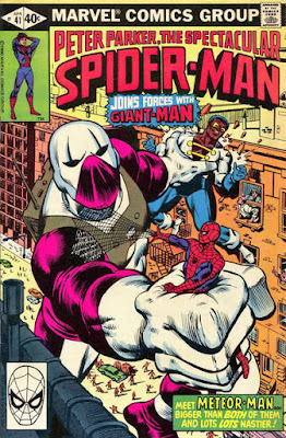 Spectacular Spider-Man #41, Giant-Man and Meteor Man