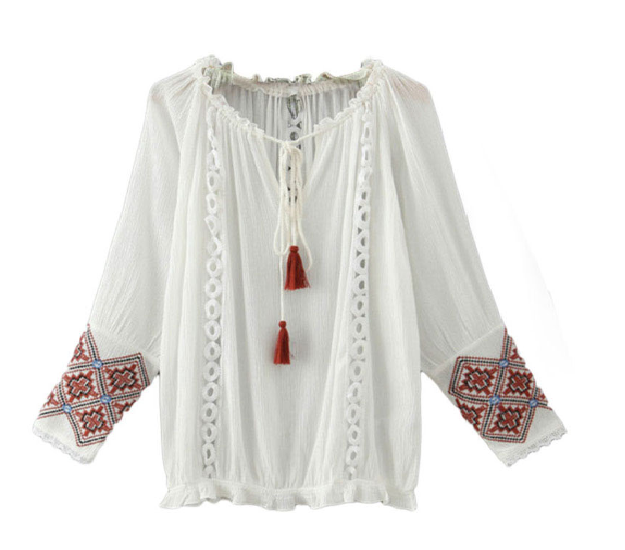 http://www.banggood.com/Ethnic-White-Fringe-Embroidery-Hollow-Out-Long-Sleeve-Women-Tunic-Blouse-p-1029248.html?utm_source=sns&utm_medium=redid&utm_campaign=anouckinhascloset&utm_content=chelsea