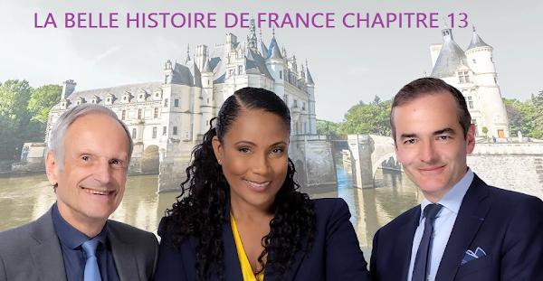 LA BELLE HISTOIRE DE FRANCE CHAPITRE 13 : PHILIPPE LE BEL ET LES TEMPLIERS (ÉMISSION DU 4 AVRIL 2021)