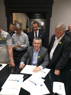 Prefeito Geraldino Júnior assinou convênio com Governo do Estado que garante repasse de 340 mil para segurança no trânsito