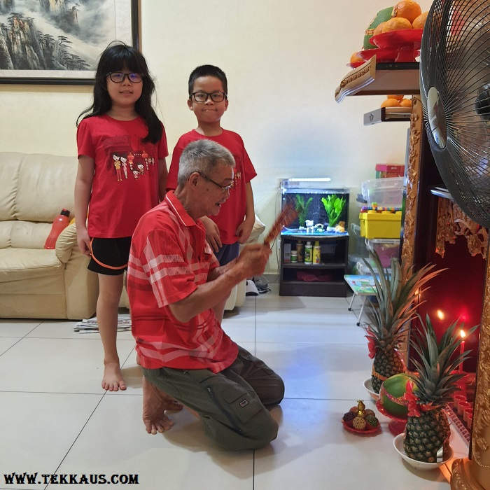 Prayers Ceremony For Chinese New Year