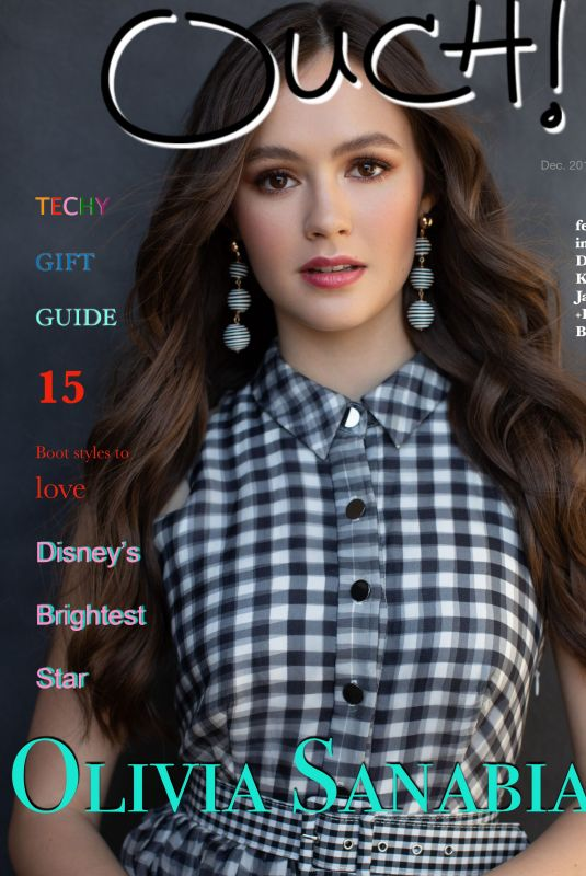 Olivia Sanabia Featured in Ouch! Magazine - December 2019