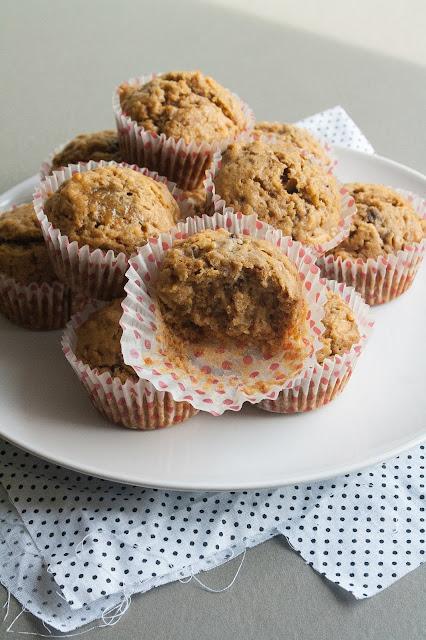 Muffin alla banana, la ricetta senza burro