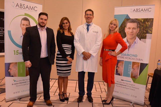 ABSAMC brings Middle East region's first 'Diamond Facial Sculpting' Non-surgical procedure to Dubai