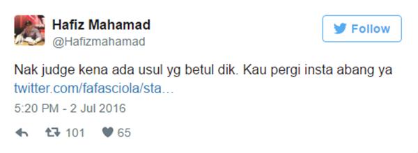 Bawa Awek Naik Limosine Tapi Bapa Tidur Atas Lantai, Ini RESPON Hafiz Mahamad BIKIN SENTAP!