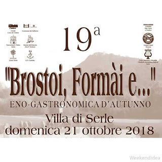 Brostoi, Formai e...21 ottobre Serle BS