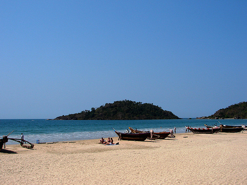 Cavelossim beach is most famous beach in Goa.