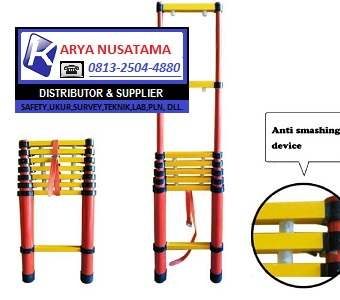 Jual Tangga Forza Fiberglass Insulated Telescopic Ladder