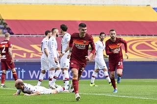 ملخص وهدف فوز روما على جنوي (1-0) الدوري الايطالي