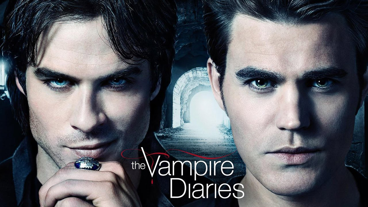 Damon y Stefan en 'The Vampire Diaries'