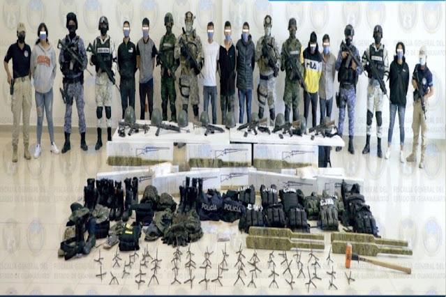 """El patrón Mencho se va enojar, caen 13 Sicarios de los """"Élites"""" del CJNG 3 de ellos eran menores"""