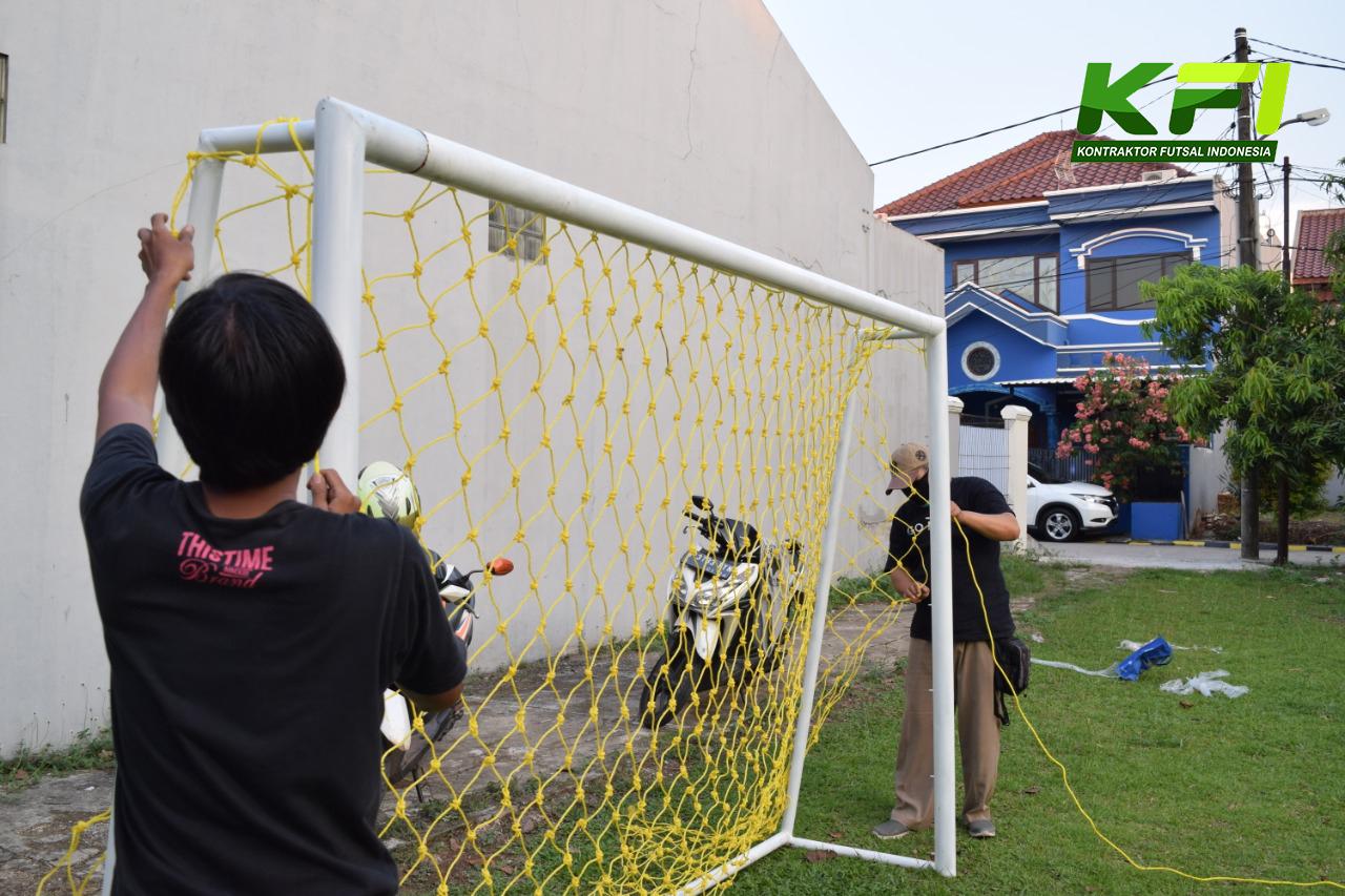 Gambar Jaring Gawang futsal.