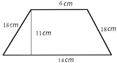 Contoh Soal Luas Trapesium Matematika 6 SD