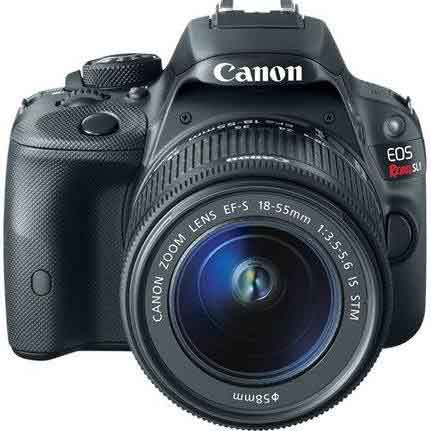 Canon EOS Rebel SL1 18.0 MP SLR with EF-M 18-55mm IS STM Lens