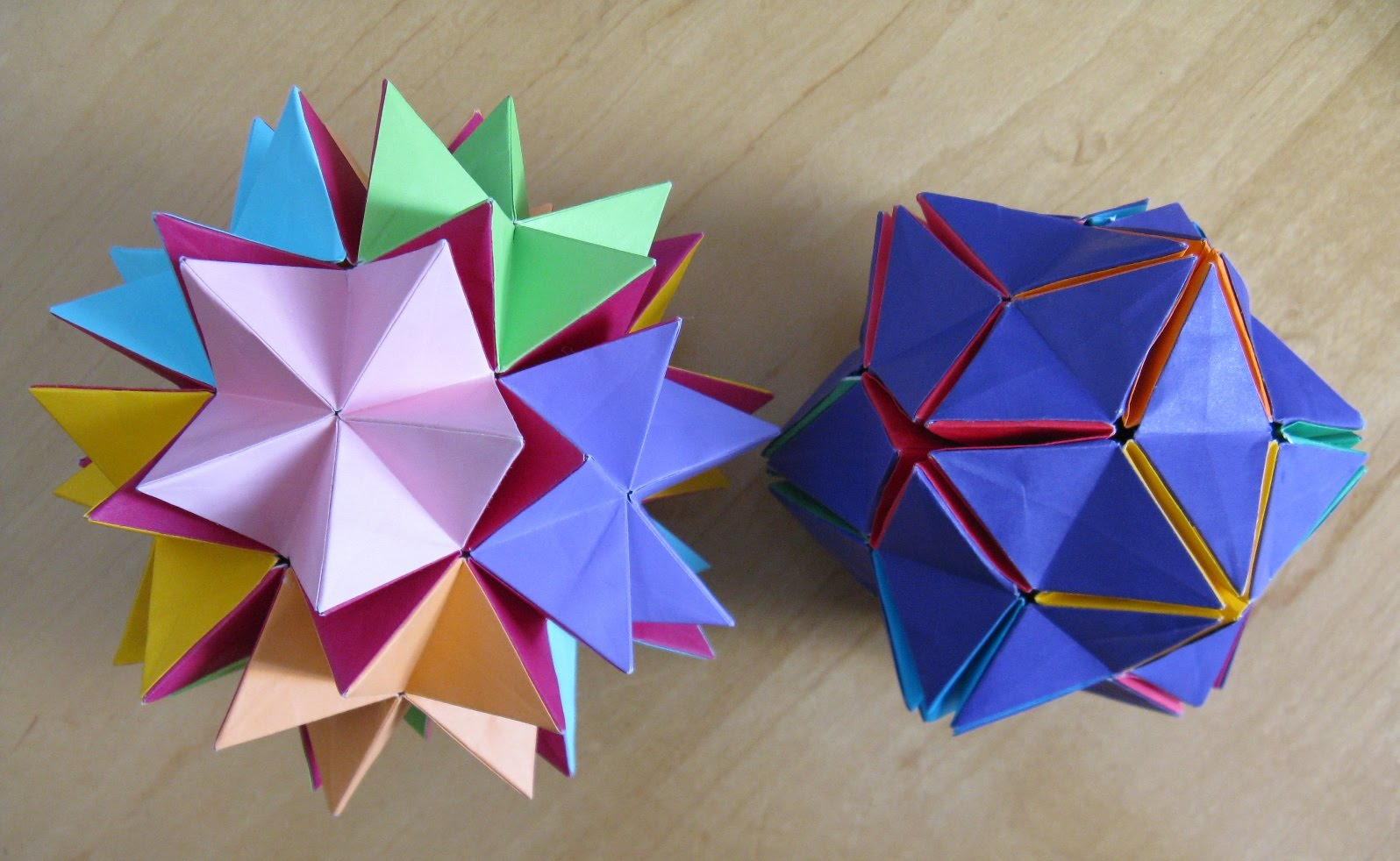 Origami Maniacs: Origami Revealed Flower - photo#42