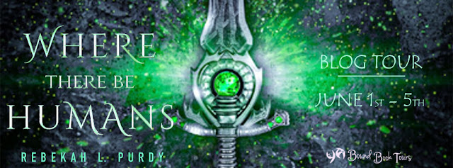 Blog Tour with Giveaway:  Where There Be Humans by Rebekah L. Purdy