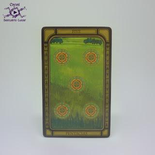 The Golden Tarot (CICO Books) - 5 of Pentacles