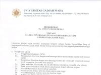 Seleksi Penerimaan Tenaga Kependidikan Tetap Universitas Gadjah Mada