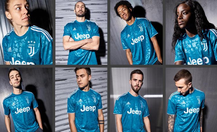 Juventus predstavio treću garnituru dresova za sezonu 2019/20