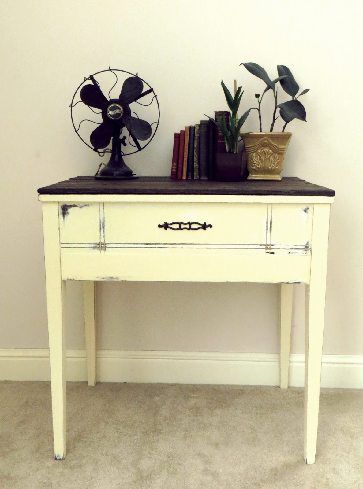 namely original diy sewing table repurpose. Black Bedroom Furniture Sets. Home Design Ideas