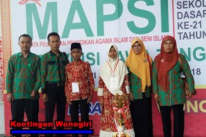 Hasil Lengkap Lomba MAPSI ke 21 Tingkat Provinsi Jawa Tengah Tahun 2018 Bertempat di Wonogiri