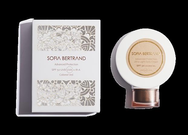 Protector solar de Sofia Bertrand