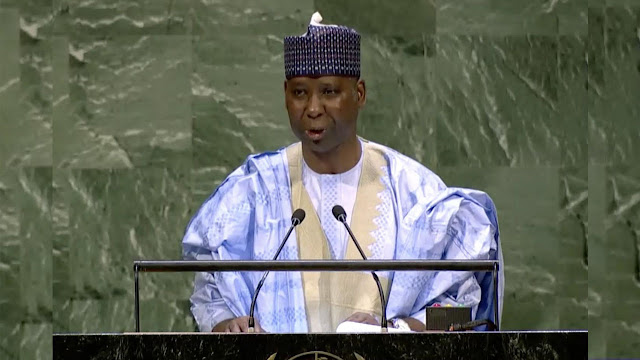 UNGA: Bande Called For The Promotion Of International Peace And Security
