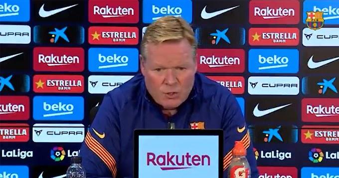 Barcelona vs Getafe pre-match press conference: Koeman provides fitness update on Messi, Pjanic and more