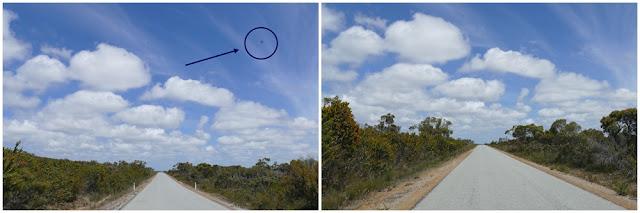 Strasse, Australien, Blick, fotografieren, Auto, Ausschnitt, Himmel, Fleck