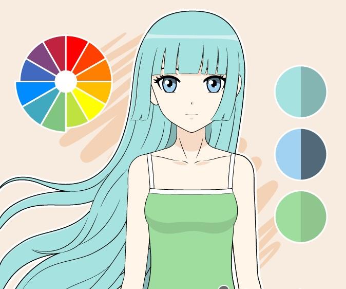 Gambar warna analog