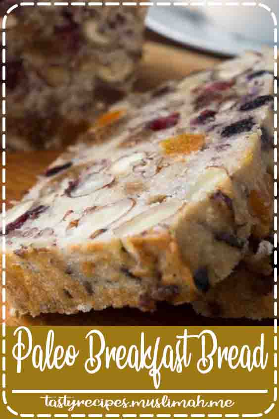 Healthy Paleo Banana Bread ~ this gluten free bread is chocked full of nutritious fruits, nuts, and seeds ~ it makes the most heavenly toast!