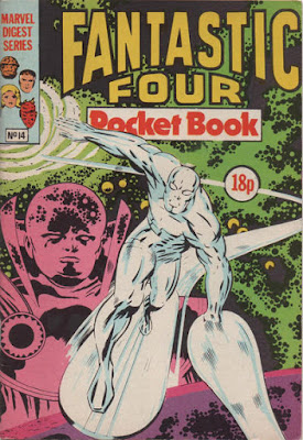 Fantastic Four Pocket Book #14, the Silver Surfer
