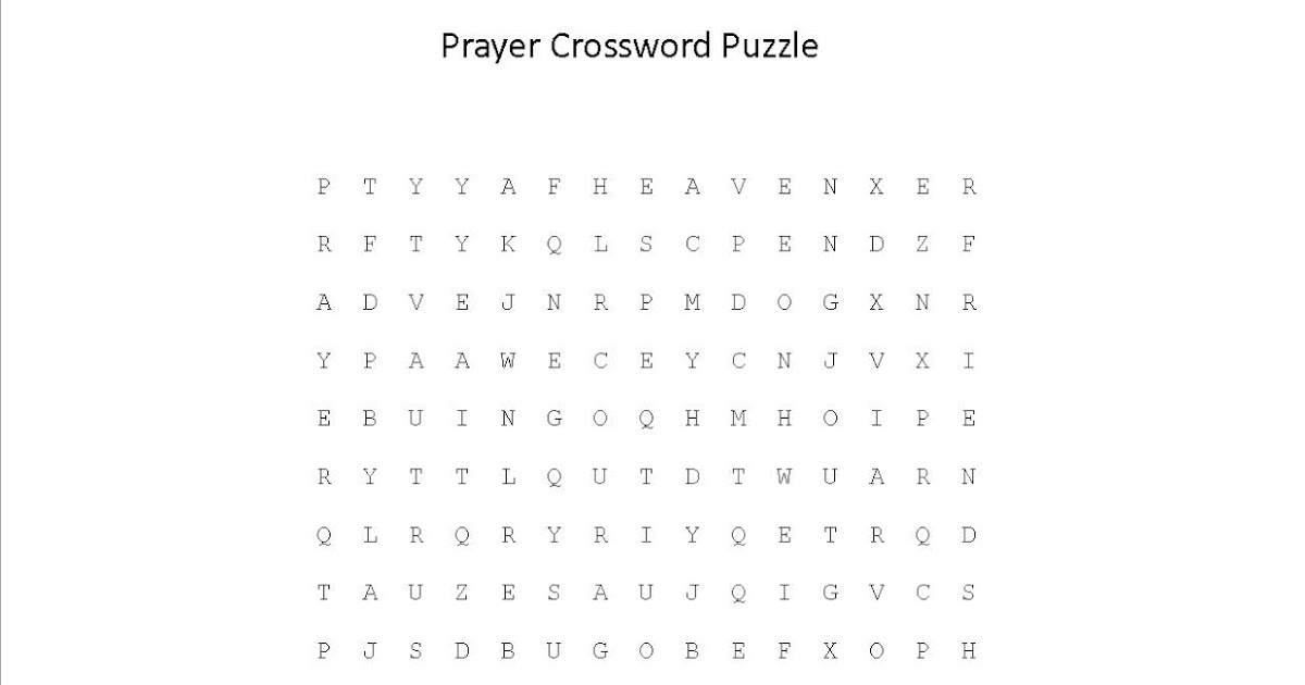 Printable Daily Crossword Puzzles Free Easy