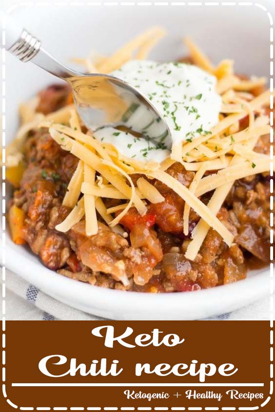 Keto Chili recipe that is whipped together in just  Keto Chili recipe