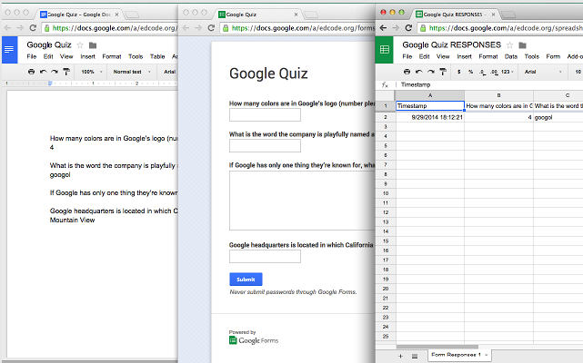 A Great Tool for Creating Quizzes out of Google Docs | Educational
