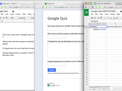 A Great Tool for Creating Quizzes out of Google Docs