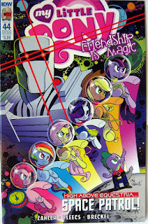 IDW MLP comic no. 44, ROM cover