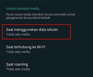 Tips Hemat Data Kuota di WhatsApp