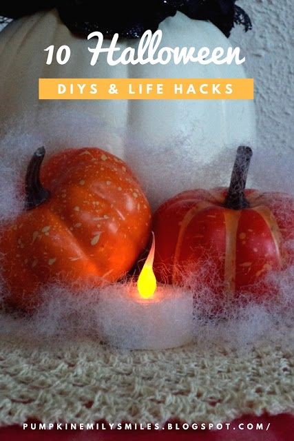 10 Halloween DIYs and Life Hacks