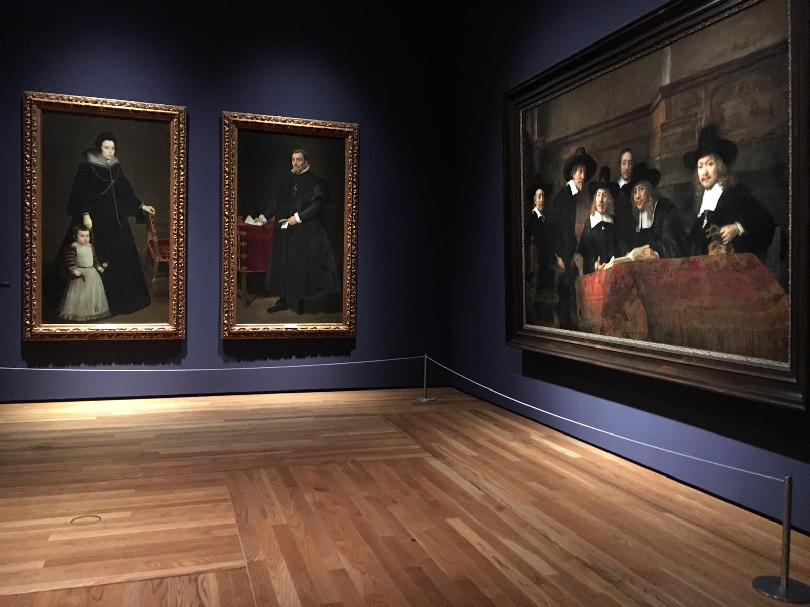 Velázquez, Rembrandt, Vermeer : Parallel Visions in Prado Museum